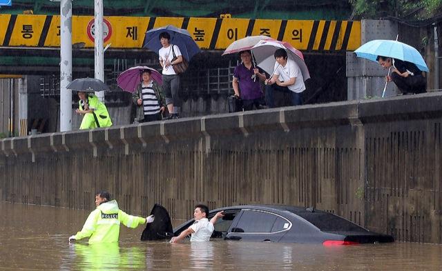 La météo en Corée du Sud