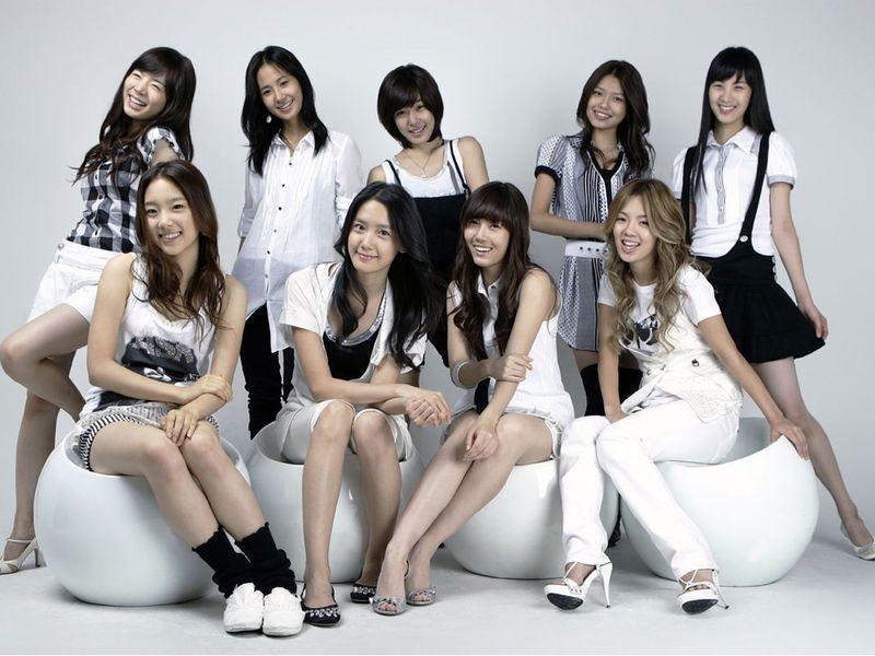 groupe K pop coréen