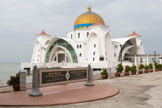 mosquée flottante Malacca